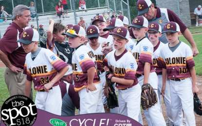SPOTTED: Colonie loses heartbreaker, eliminated from Little League tourney