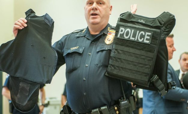 Law enforcement across Albany County gets new vests, helmets