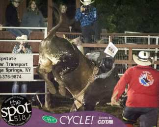 Spotted: Double M Professional Rodeo Aug 26 in Ballston Spa, NY.