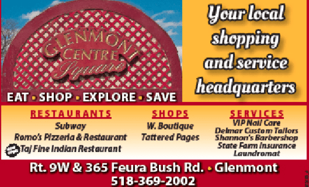 Glenmont center is a small mall with lots to offer