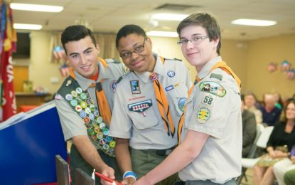 The Four Percent: Elsmere Eagle Scouts talk about what it takes to achieve BSA's highest rank, and why they didn't stop there