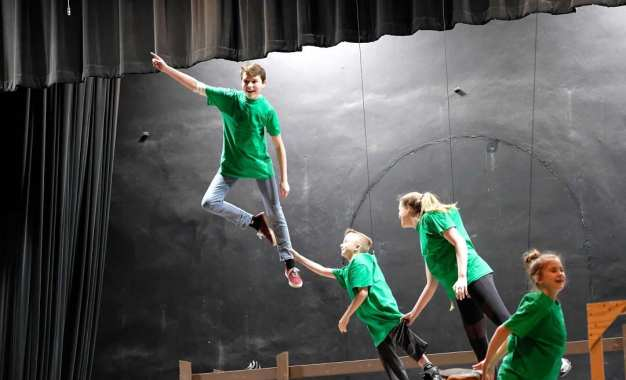 Peter Pan Jr. takes off at the Bethlehem Central Middle School