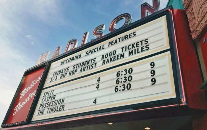 Madison Theater will potentially change hands, and its current owner  wants you to be excited