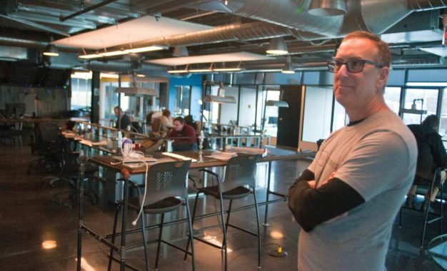 Coworking is a concept embraced  by even the most unlikely of parties