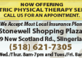New Scotland Physical Therapy offers a personal touch