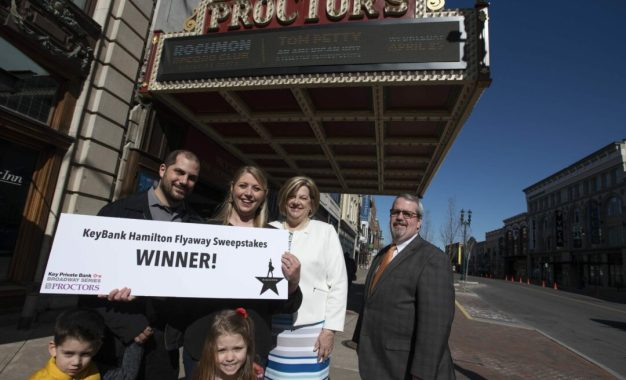 """Voorheesville woman wins """"Hamilton"""" sweepstakes"""