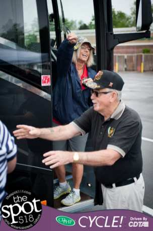 vets send off to DC-1531