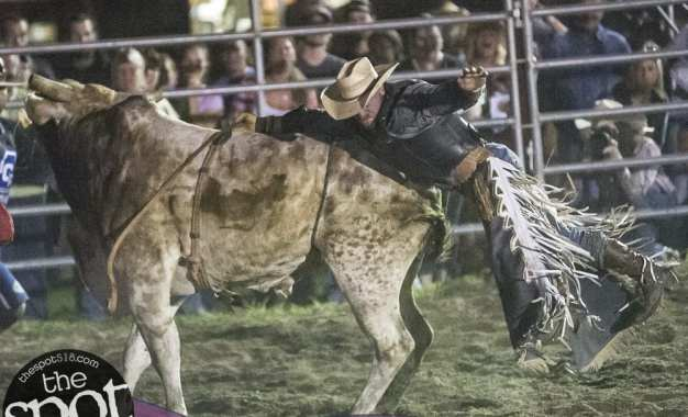 SPOTTED: Double M Professional Rodeo July 20 – the night of speed and spills