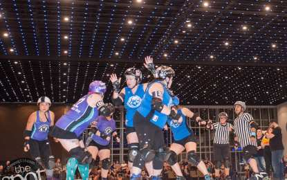 SPOTTED: The Albany Brawl Stars vs. Worcester Roller Derby