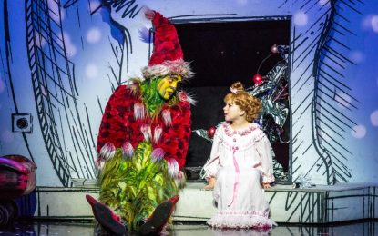 Seuss' big grouch pulls the audience in with unique charm