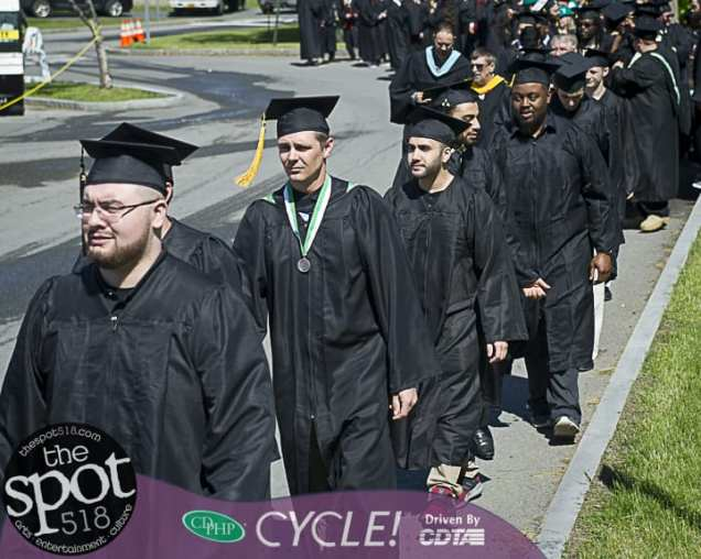 Hudson Valley Community College hosted its Graduation on May 18.