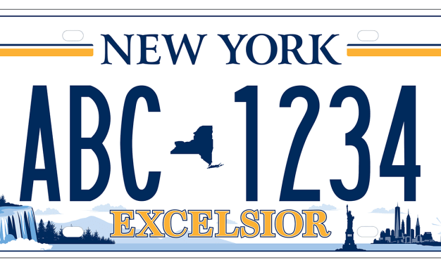 New York state residents pick a new license plate