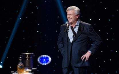 Ron White – and his tequila – takes the Palace Theatre stage on Friday, Oct. 11