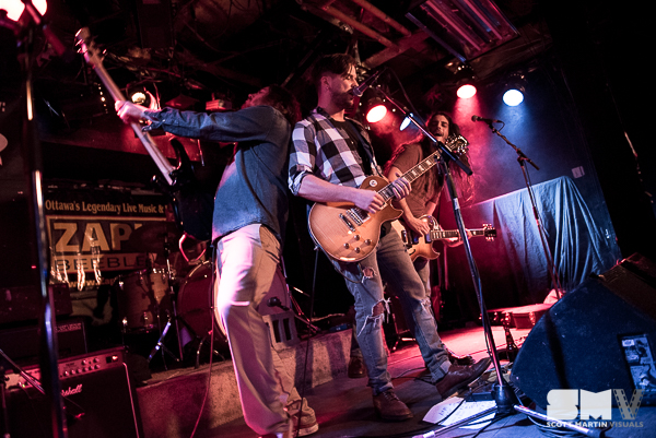 Cast In Cadence at Zaphods