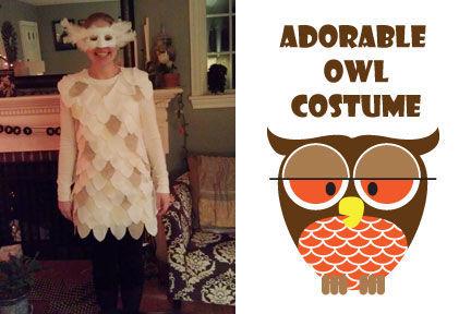 Handmade Owl Costume