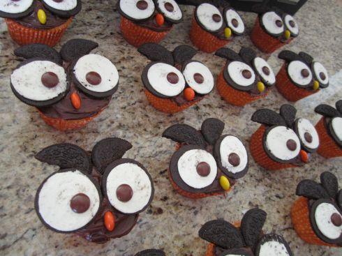 Owl Cucakes