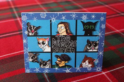 Mary Christmas Card 2012