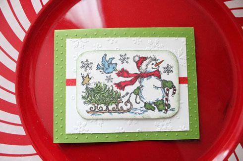 Pat M Christmas Card