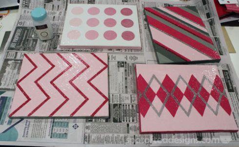 Nursery Canvas Art Decoupage - spotofteadesigns.com
