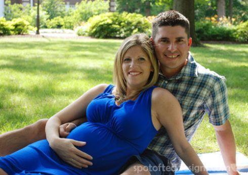 Maternity Photo Shoot | spotofteadesigns.com