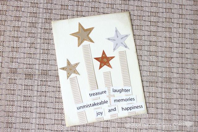 Handmade Card using stars and stripes theme | spotofteadesigns.com
