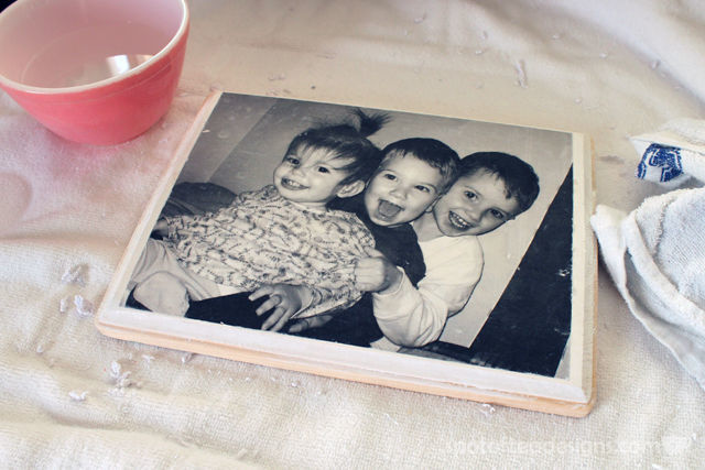 DIY Wood Photo Transfer Tutorial | spotofteadesigns.com