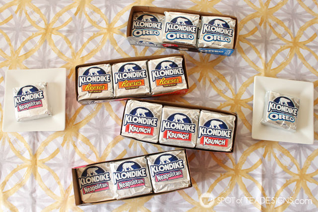 Klondike Stickless Ice Cream Bars = A perfect summer treat @KlondikeBar #IC #AD| spotofteadesigns.com