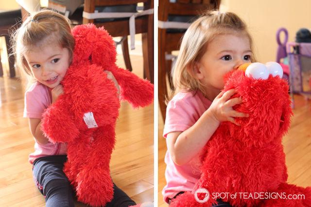 Our Playdate with Elmo. #PlayAllDayElmo #IC #Ad @HasbroNews | Spotofteadesigns.com
