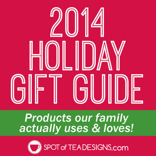 2014 Holiday #Gift Guide: featuring ideas for him, her, the blogger, the chef and kids! | spotofteadesigns.com