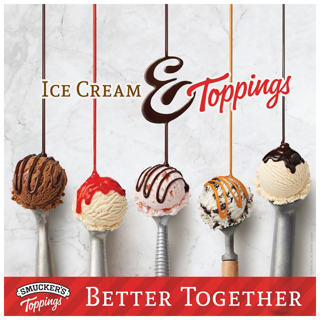 Smuckers Toppings and Ice Cream are Better together! #ad #cbias #TopYourSummer #SoHoppinGood  spotofteadesigns.com