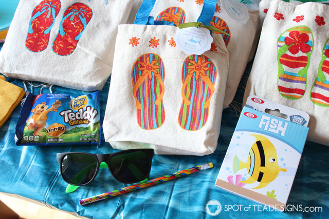 Under the Sea #birthdayparty - favors. Go Fish game! | spotofteadesigns.com