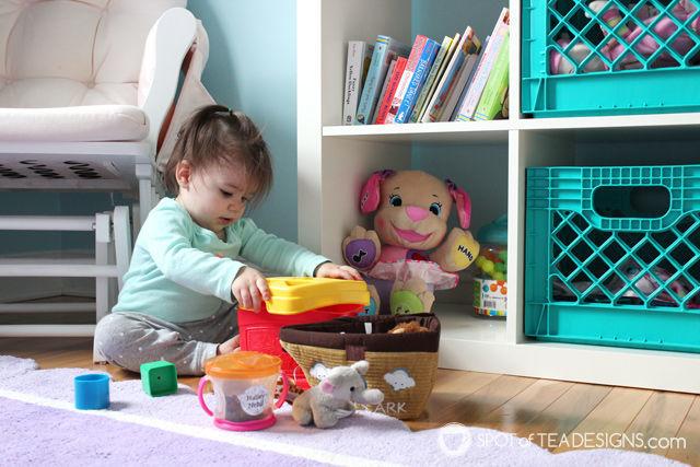 Under the Sea Nursery - #babygirl #nursery | spotofteadesigns.com