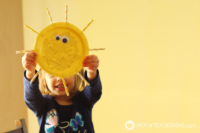 Box of Sunshine Gift Basket Idea - yellow items with free printable to cheer someone up. kids craft inside! | spotofteadesigns.com
