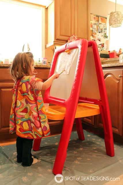 Favorite Toddler products age 3 - art easel | spotofteadesigns.com