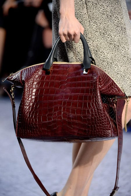 The Bags of the Chloe Fall 2013 Runway Collection  Spotted Fashion