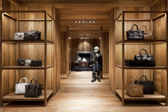 Prada Opens New Store At The Courchevel Resort In France Spotted Fashion