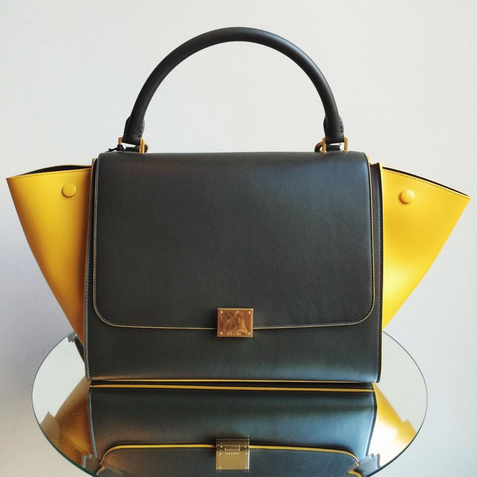 Celine Bags with Colored Trim for Fall / Winter 2014   Spotted Fashion