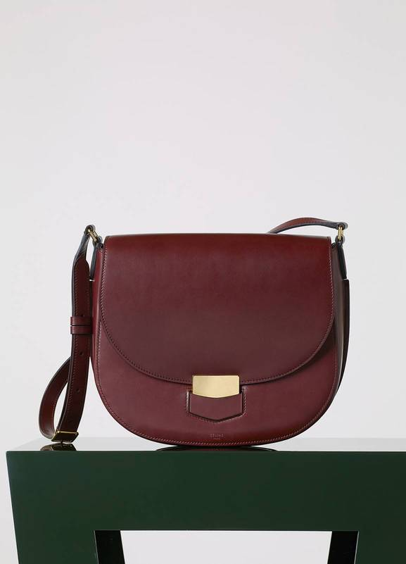 8d1a11bbcbe3 CELINE Liege Calfskin Medium Classic Box Bag Souris 133863 · Celine Pre  Fall 2015 Bag Collection Featuring New Sangle
