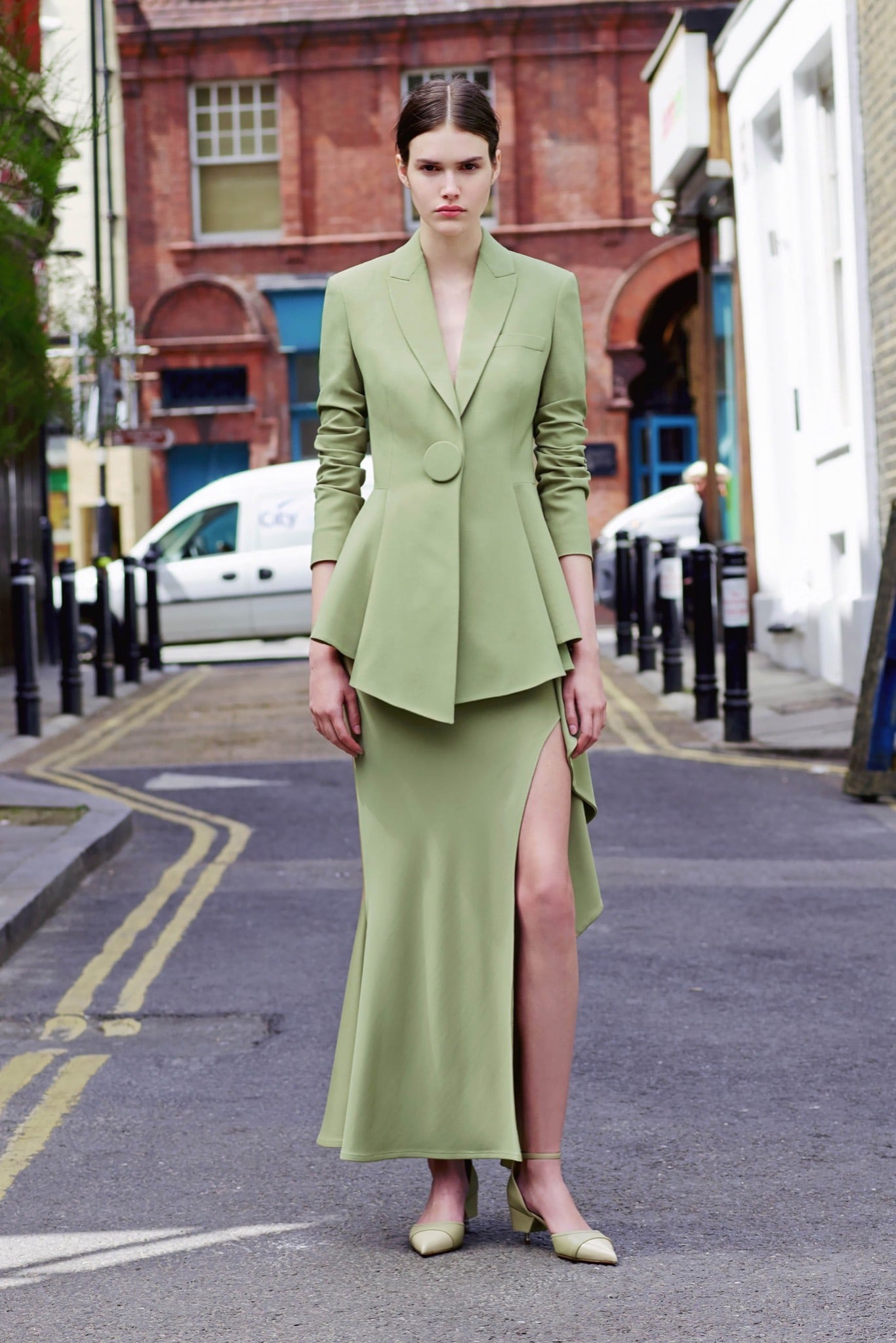 Givenchy Resort 2016 Collection Featuring Green Leopard