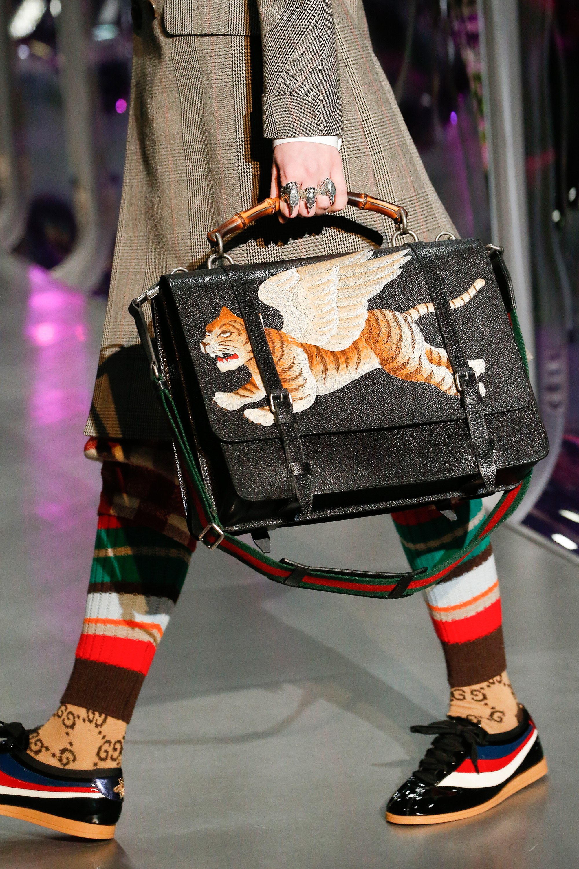 Gucci FallWinter 2017 Runway Bag Collection Spotted Fashion