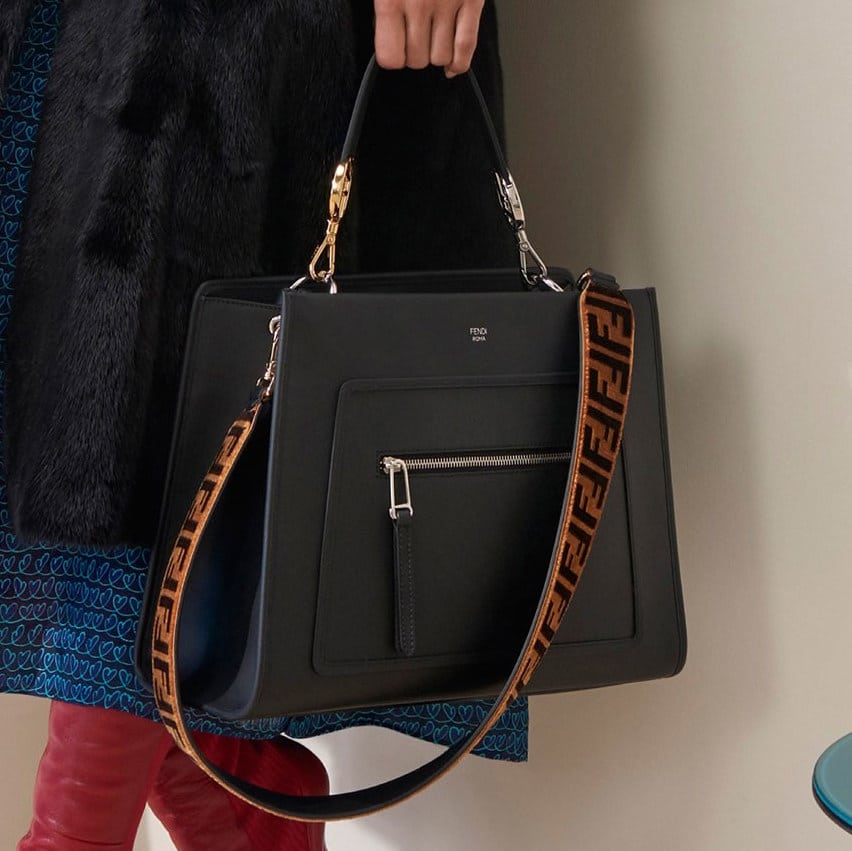 Fendi Pre Fall 2018 Bag Collection Features Heart Patterns