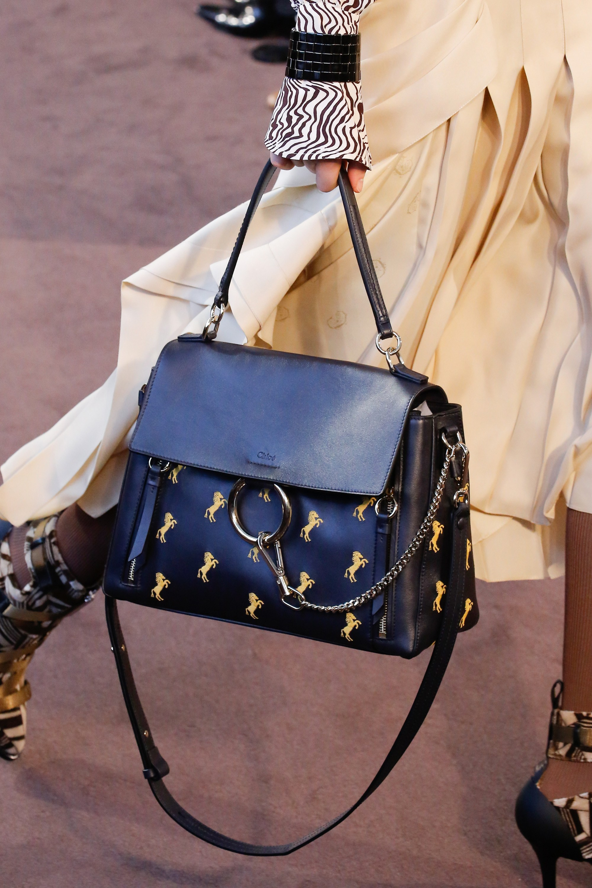 Chloe FallWinter 2018 Runway Bag Collection  Spotted Fashion
