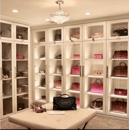 A Guide On How To Organize A Handbag Closet  Spotted Fashion