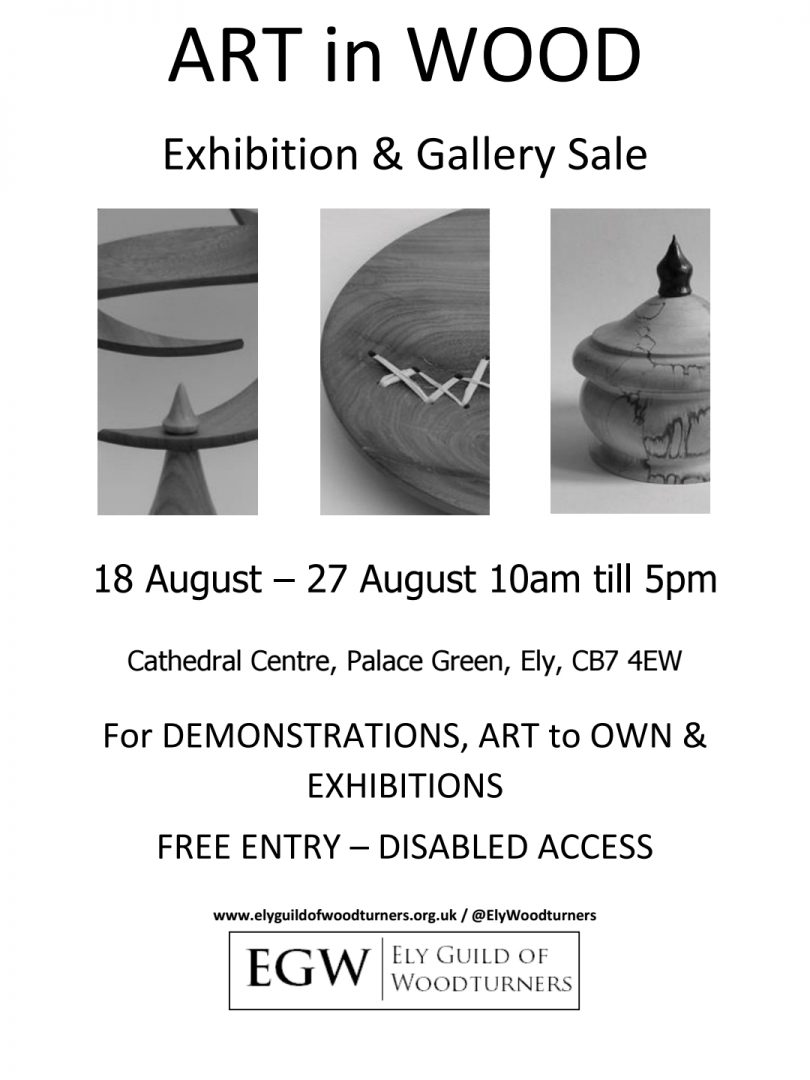 Art In Wood Exhibition Gallery Sale Spotted In Ely