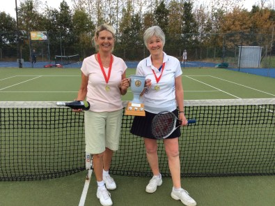 Ladies doubles winners