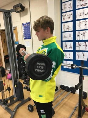 Ely College Life Fitness Barbells