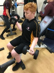 Ely College Life Fitness Dumbbells