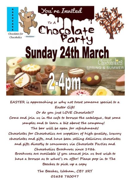 Chocoholics Event Spotted In Ely