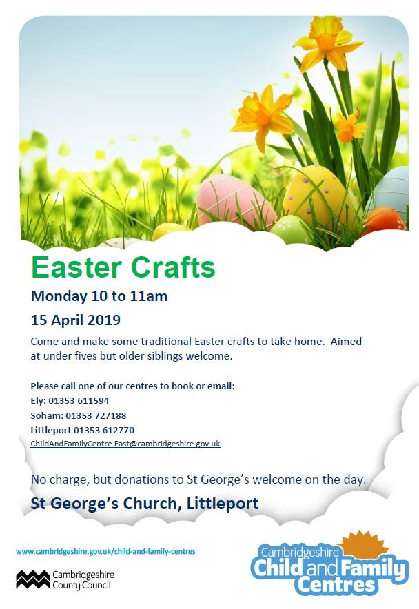 Easter Crafts At St George S Church Littleport Spotted In Ely