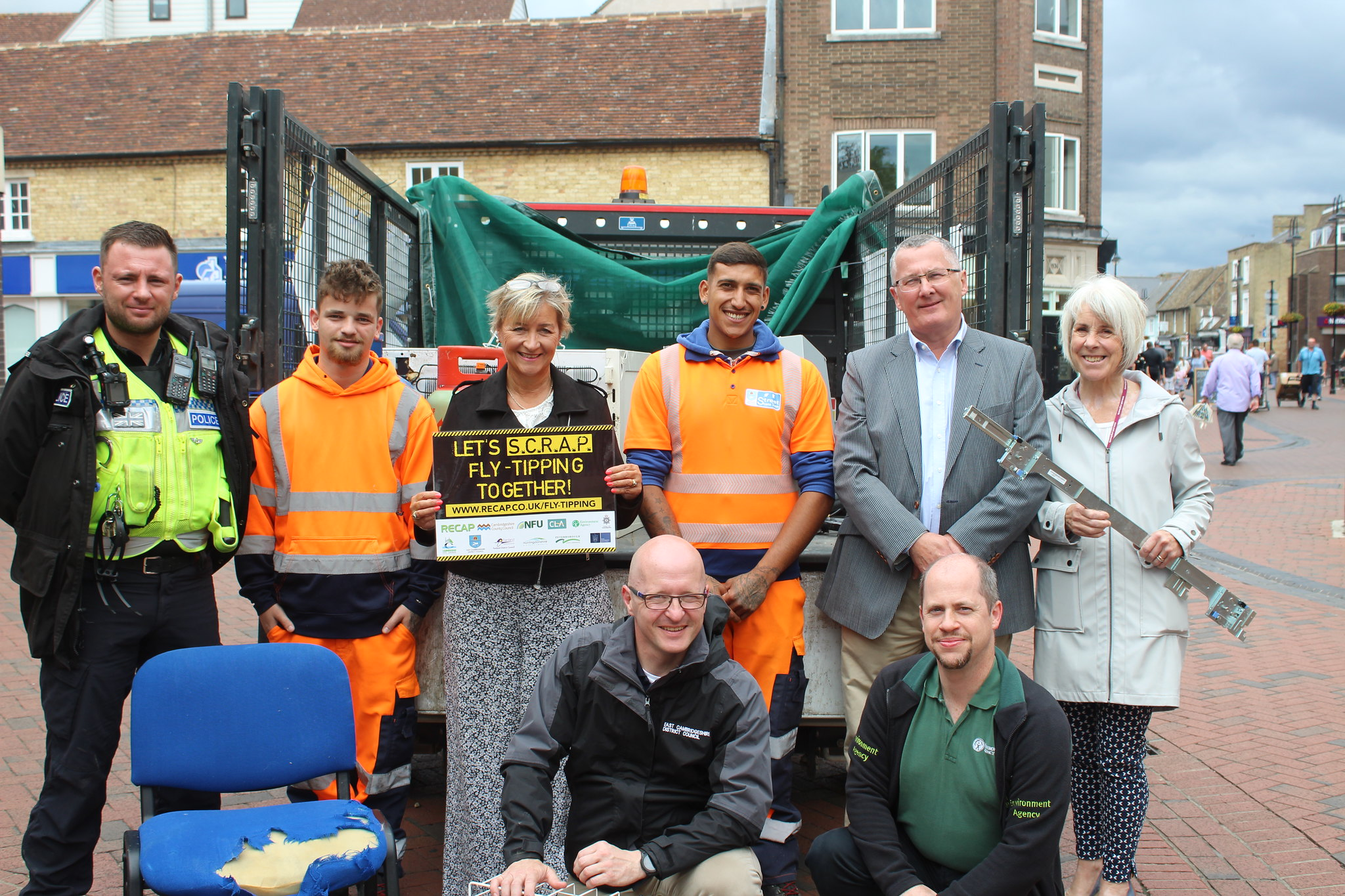 Council Making Strides to Stamp Out Fly-Tipping